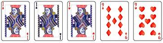 Video poker - Full House