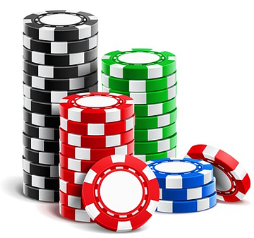 Video Poker - casino chips stack