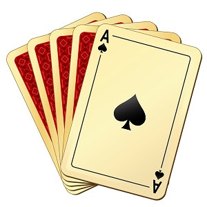 Blackjack ace card