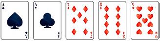 Video poker - One Pair