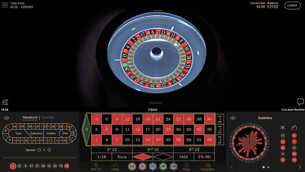 SlotsMagic Casino Auto Roulette Live