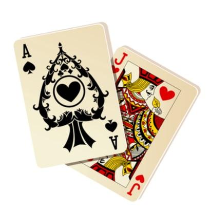 Blackjack 21 casino cards
