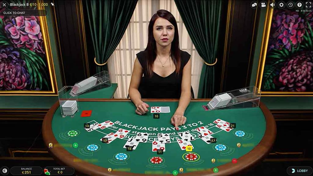 Bob Casino Classic Blackjack