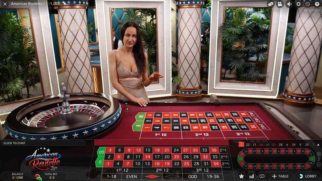 Enzo Casino Live America Roulette