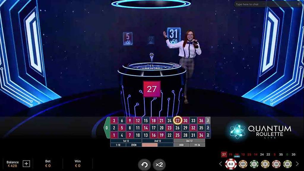 Casino Las Vegas Quantum Roulette by Playtech