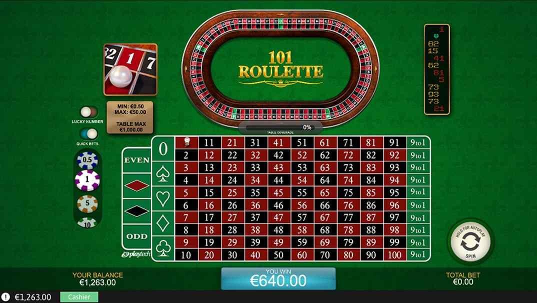 Casino Las Vegas 101 Roulette screenshot