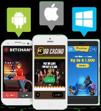 Beste mobiel casino's in Nederland