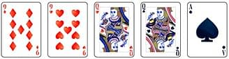 Video poker - Two Pairs