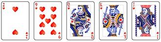 Video poker - Flush